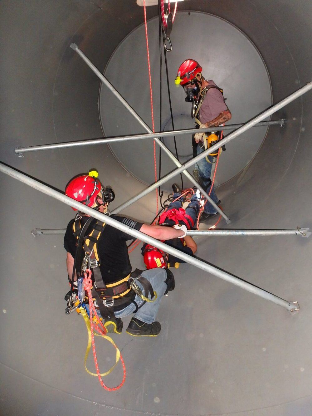 Confined Space rescue course foster safety beaumont texas