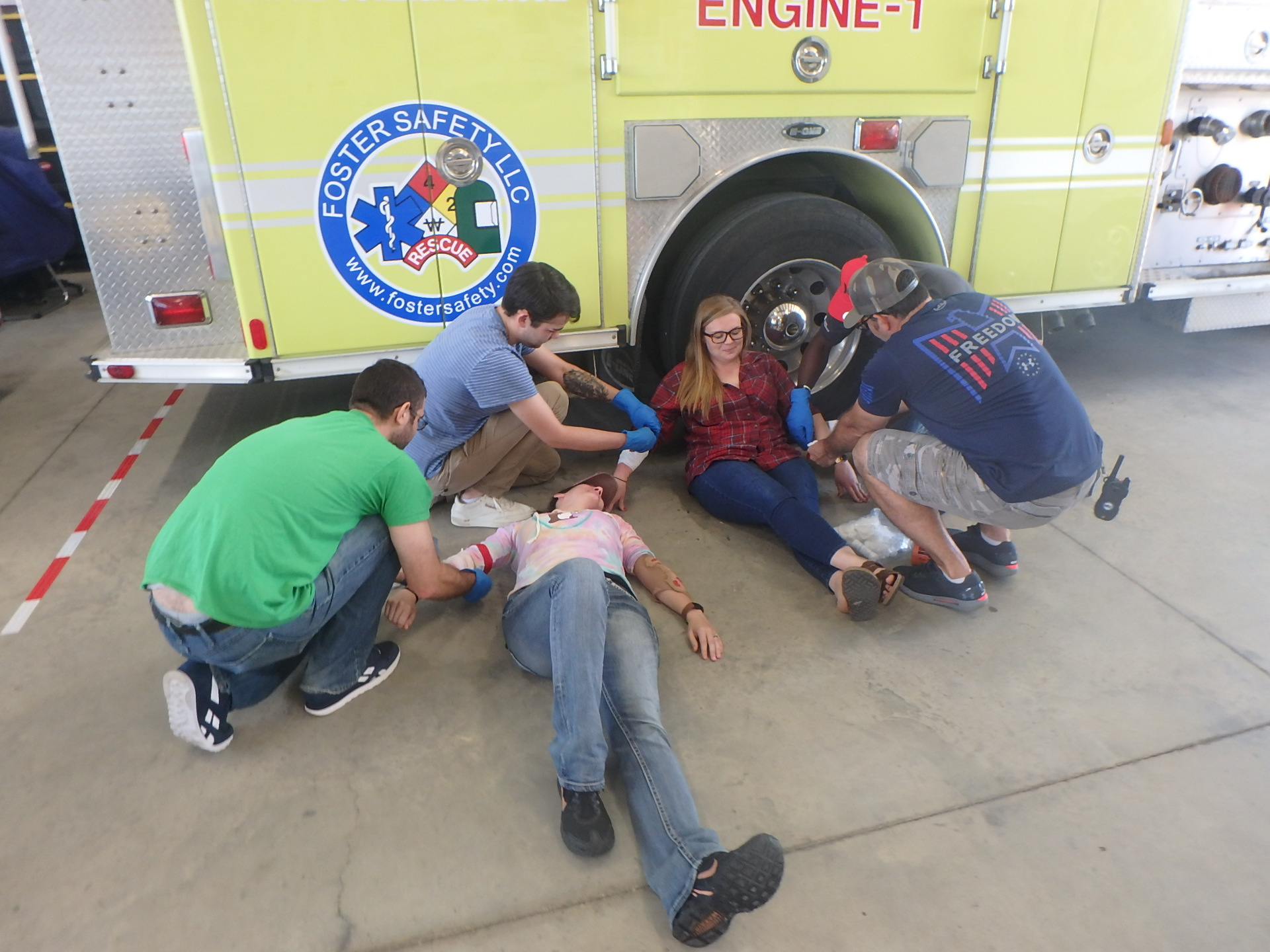 emergency medical responder course, foster safety, beaumont, texas
