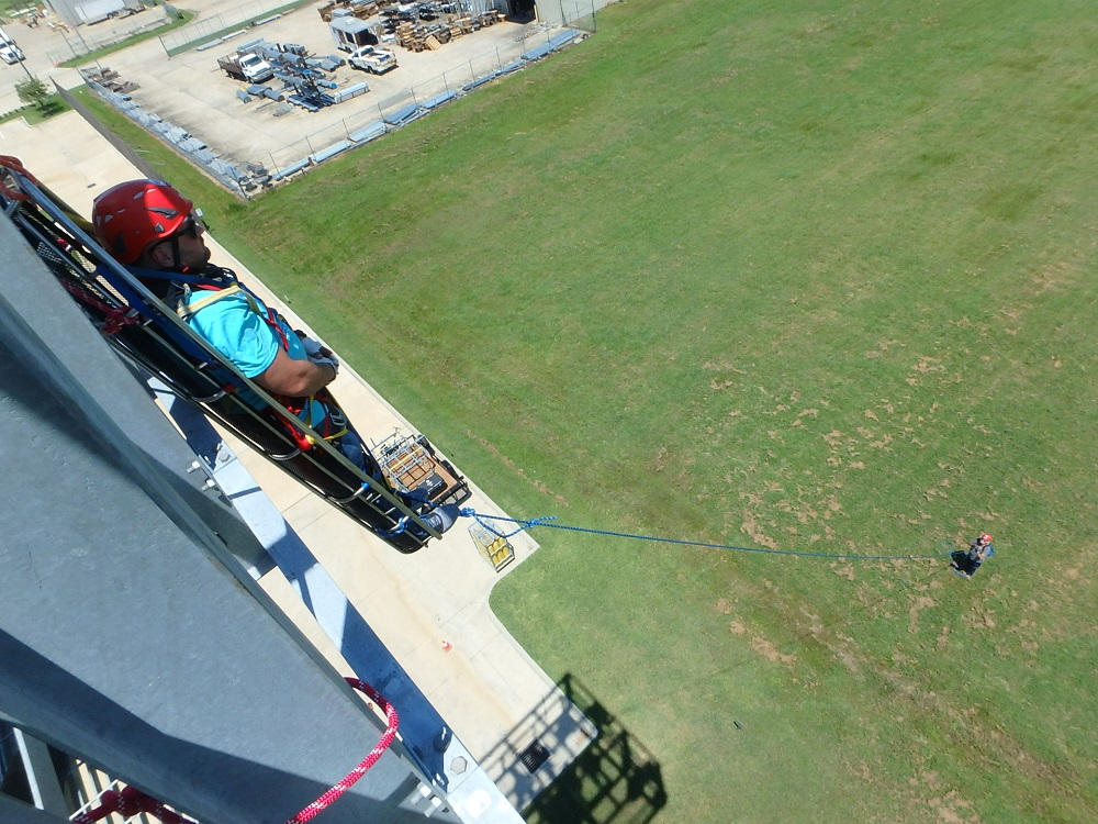 high angle rescue course, foster safety, beaumont, texas