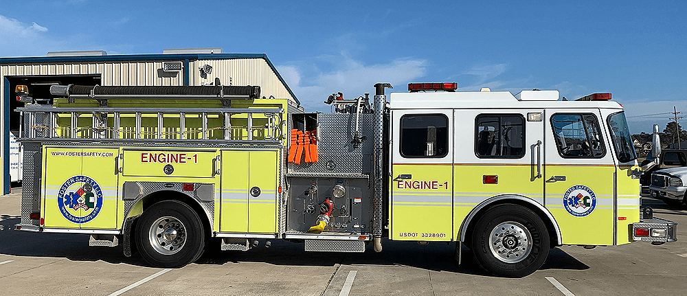 Fire Truck Rentals Beaumont, Texas - Emergency Response Rentals